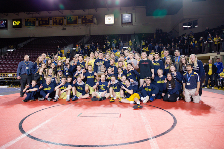 2015-2016 Hartland Wrestling State Champions!